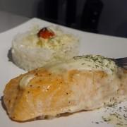 Pavé de saumon en bonne compagnie