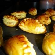 Empanadas saumon / foie gras